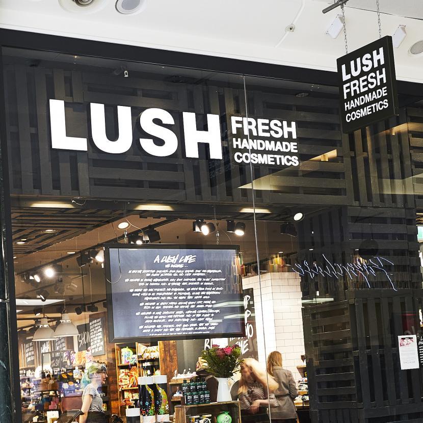 Lush Shop Front