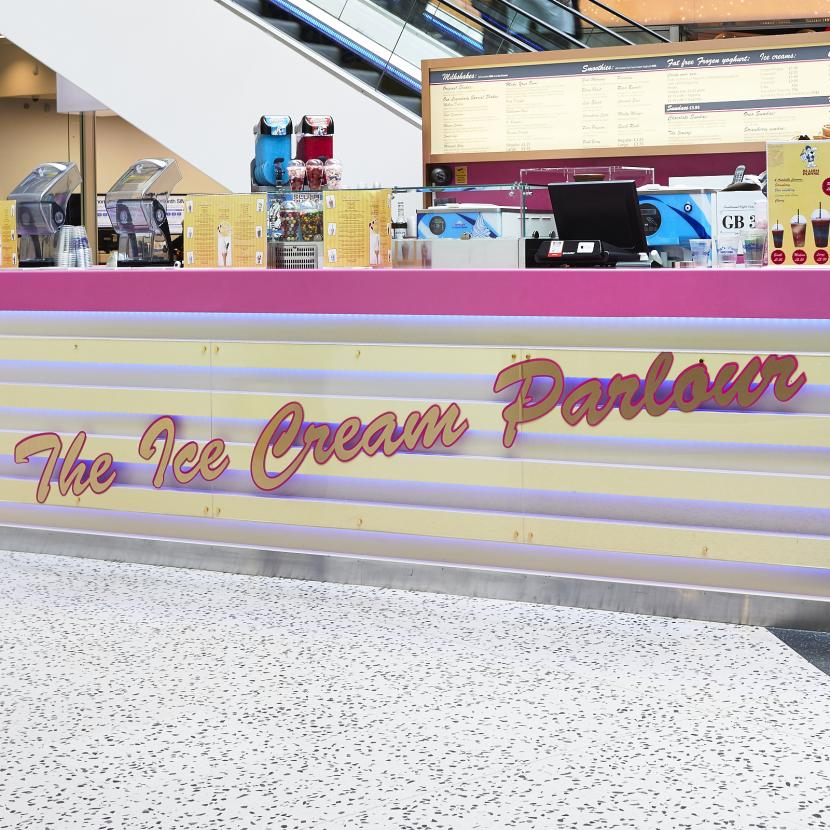 Ice Cream Parlour Shop Front