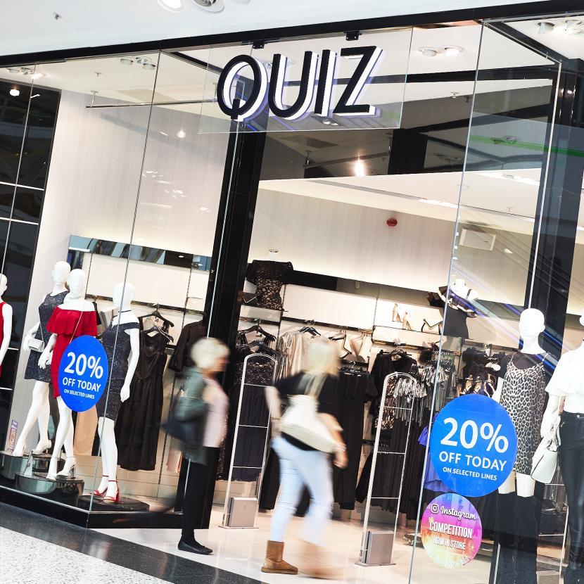 Quiz Shop Front