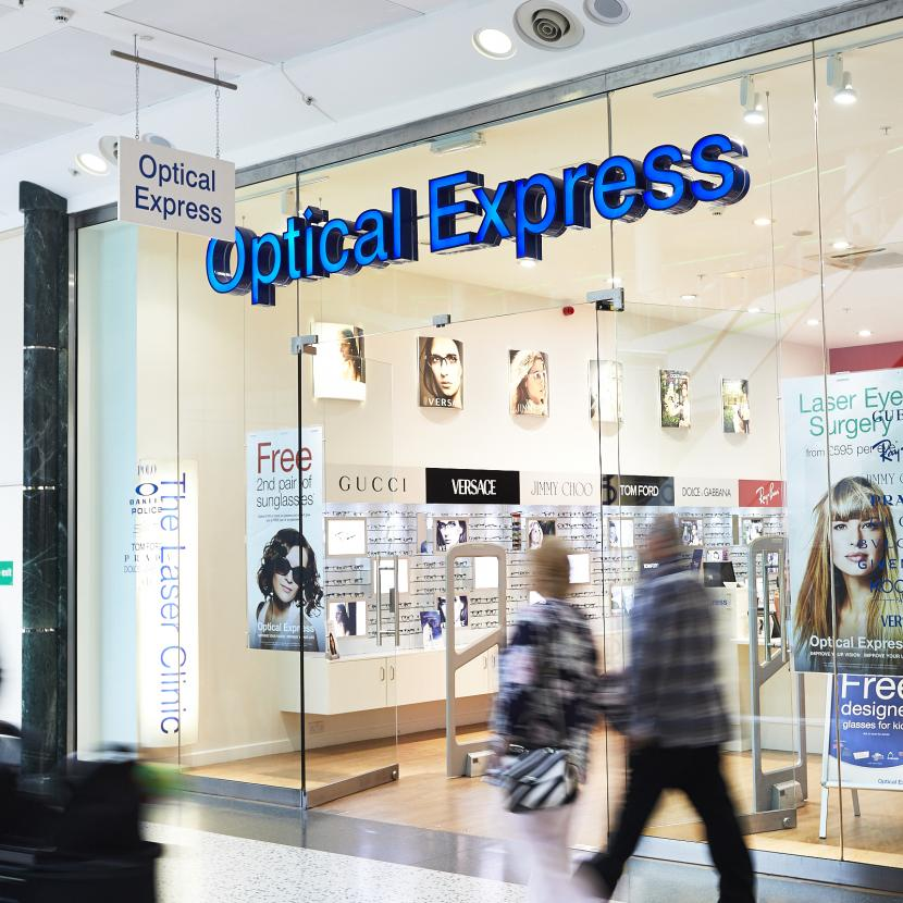 Optical Express Shop Front