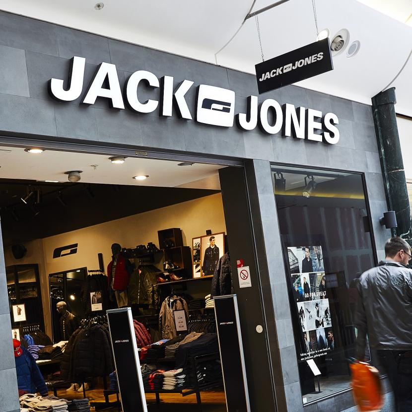 Jack Jones Shop Front