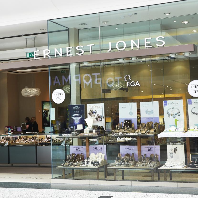 Ernest Jones Shop Front