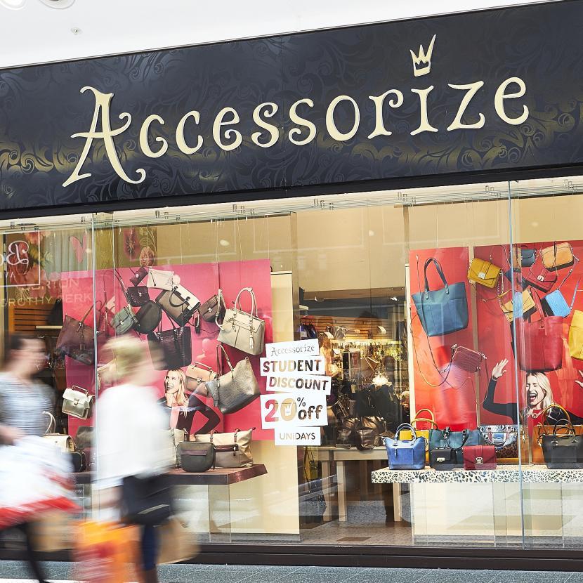 Accessorize shop front