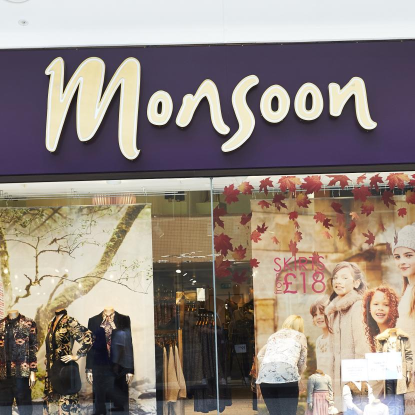 Monsoon shop front