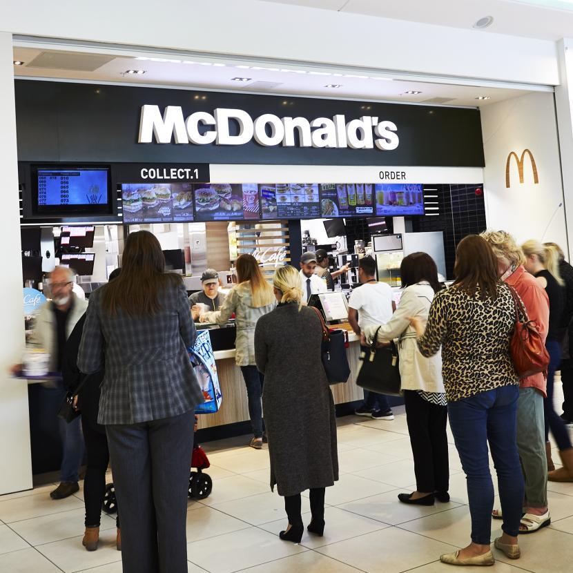 McDonalds Shop Front
