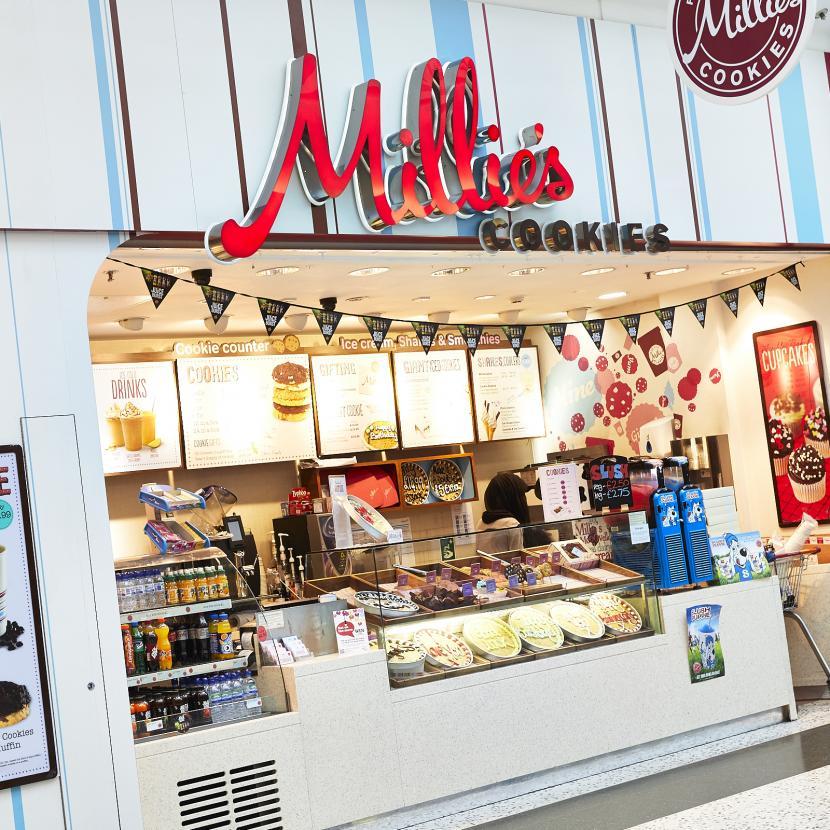 Millies Cookies Shop Front