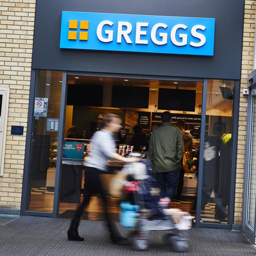 Greggs Shop Front
