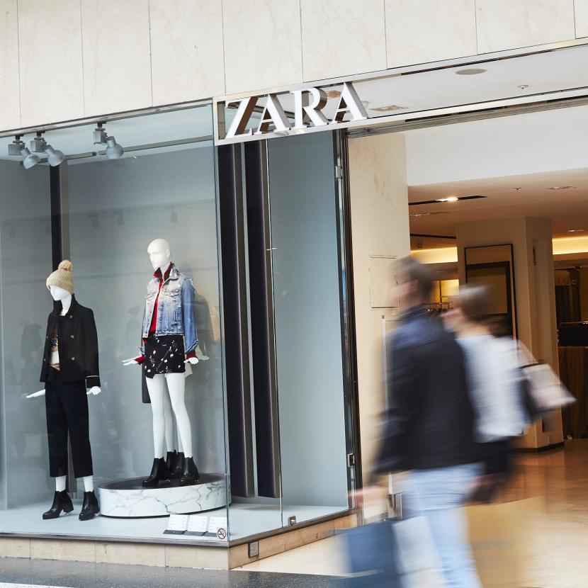 zara shop front