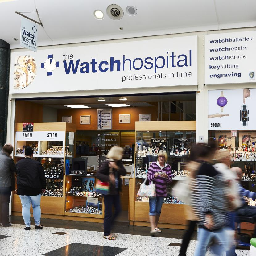 The Watch Hospital Shop Front