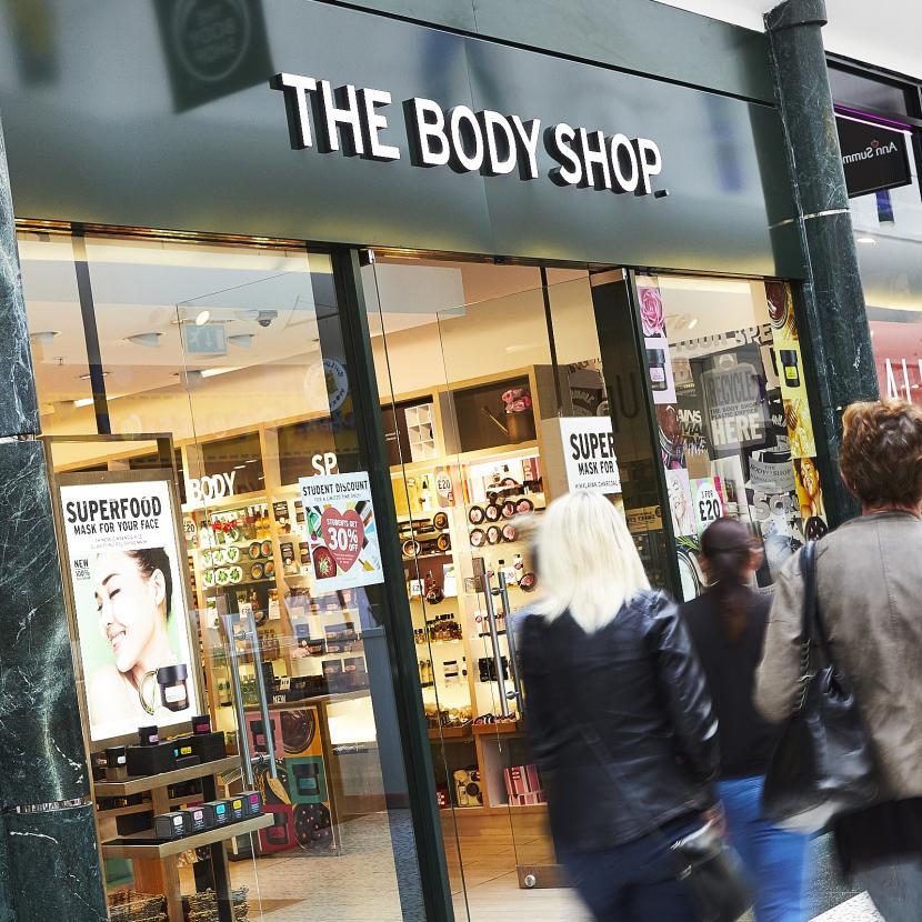 The Body Shop Shop Front
