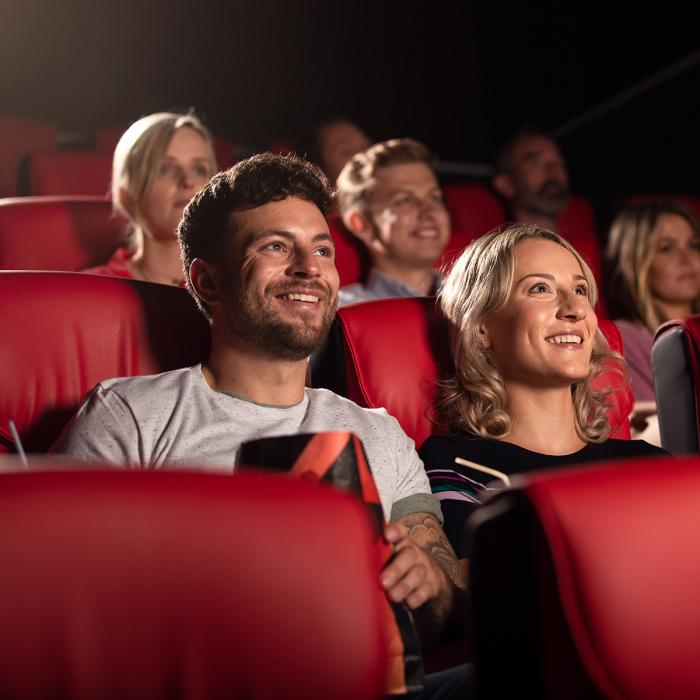 White Rose cinema couple