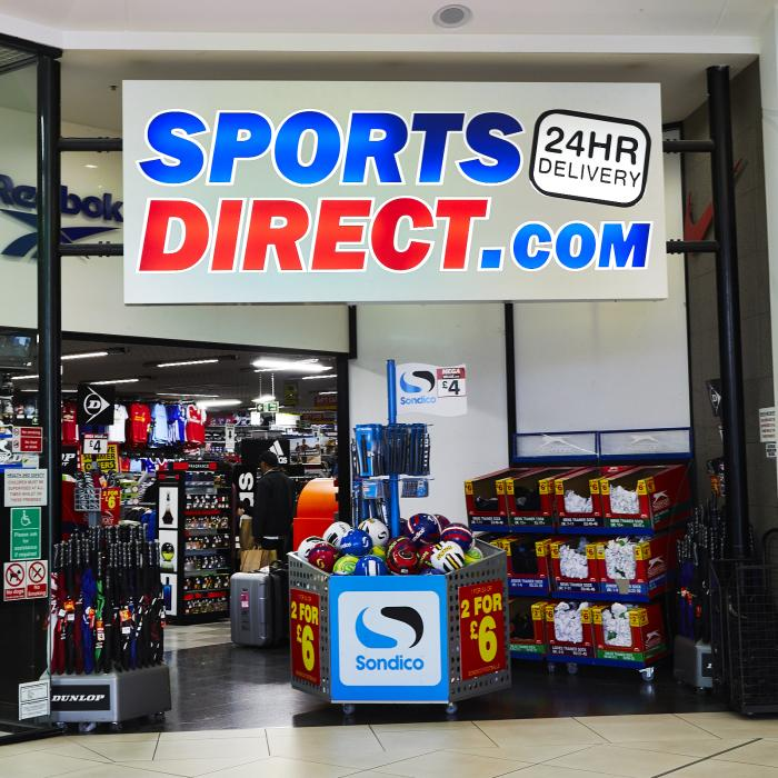 Sports Direct White Rose Shopping Centre
