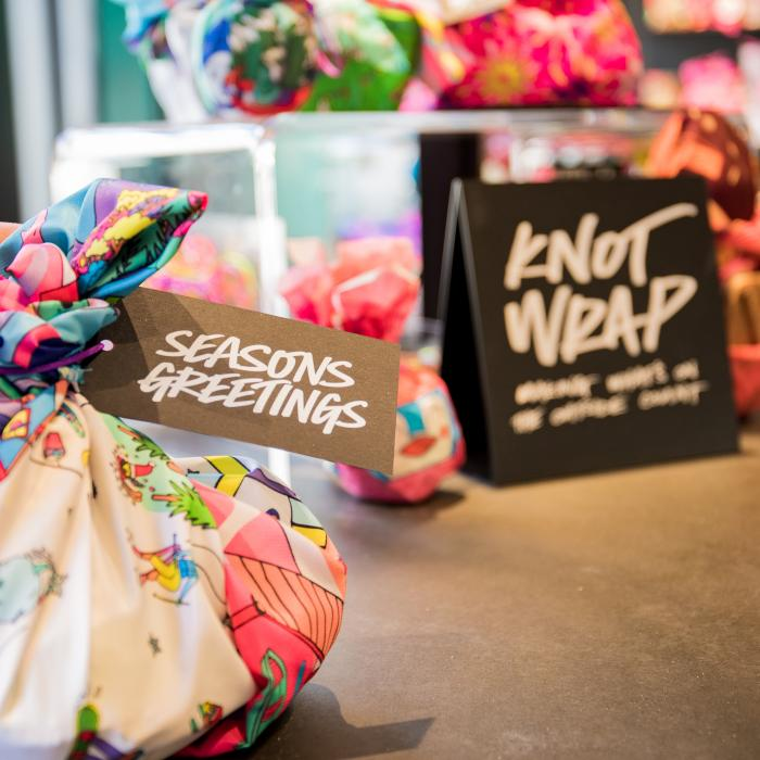 LUSH Festive Corporate Gifting Service