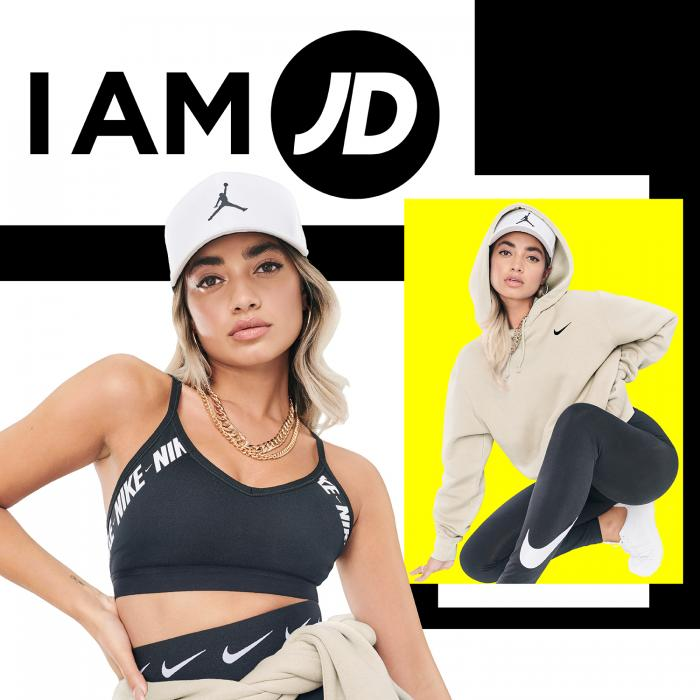 New clothing and sneaker drops at JD