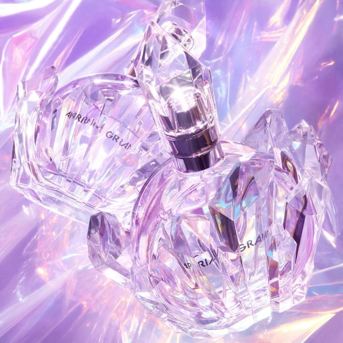 Iridescent perfume bottles