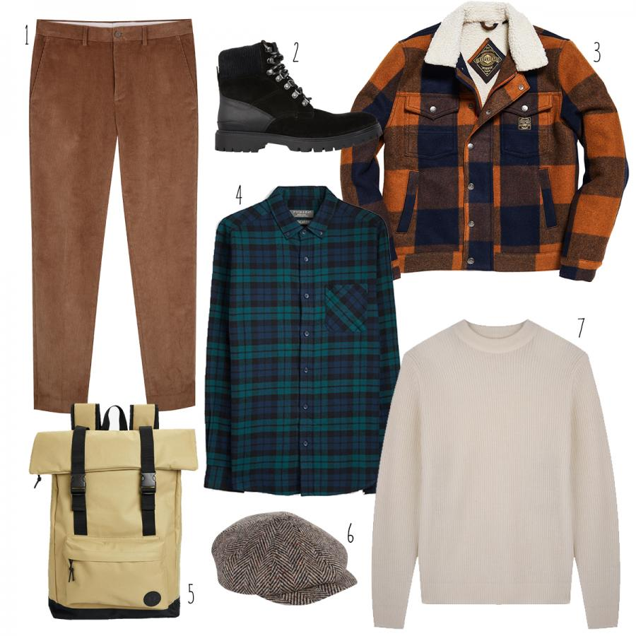 Autumn fashion for him at White Rose