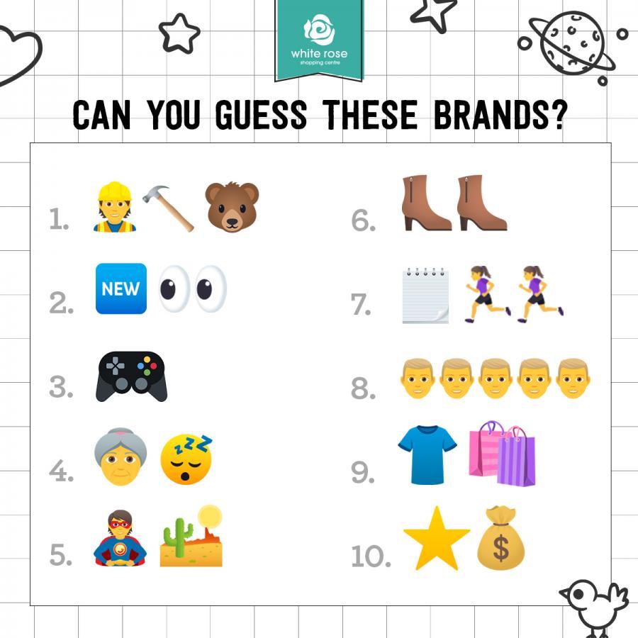 Emojis round White Rose Quiz Leeds