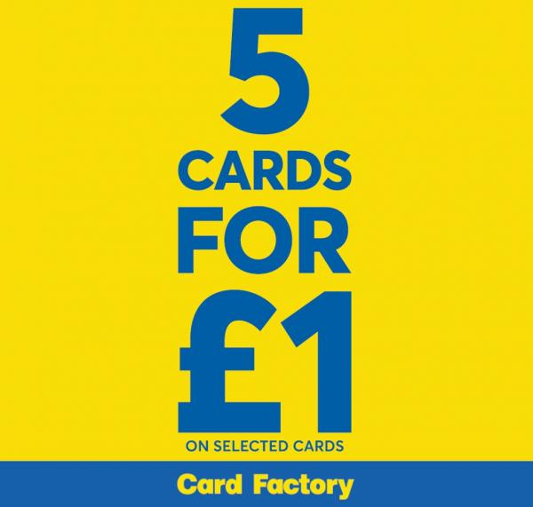 5 for 1 cards at card factory white rose shopping centre 5 for 1 cards at card factory negle Images