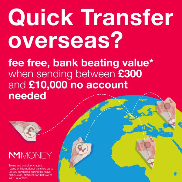 Money Transfers with NM Money