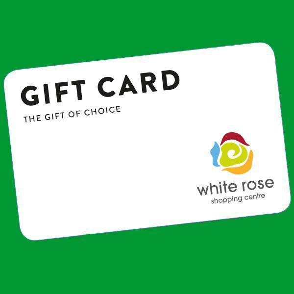 White Rose Gift Card