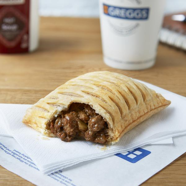 Vegan Steak Bake at Greggs
